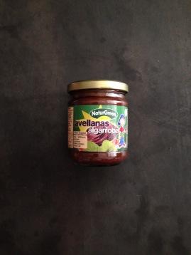 Crema de Avellanas y Algarroba