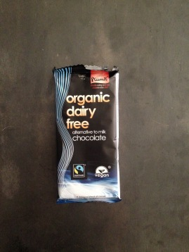 Dairy-free chocolate